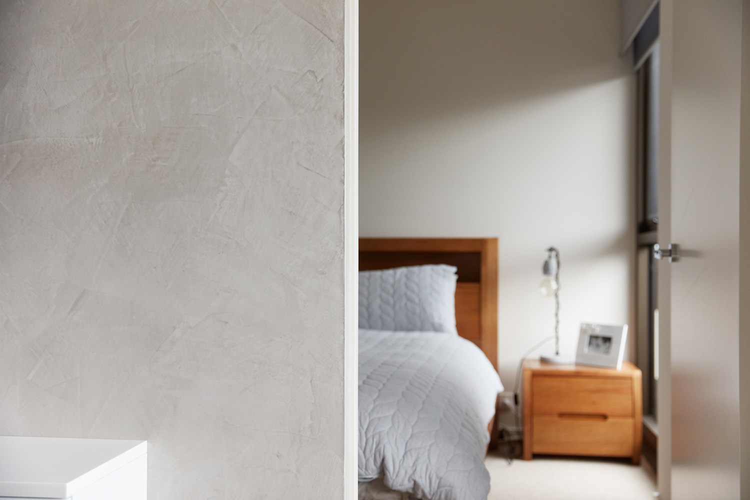 Ivory Feature Wall